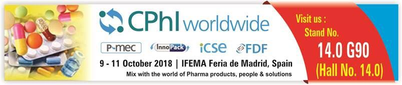 Participate in CPHi Worldwide 2018  - Madrid, Spain